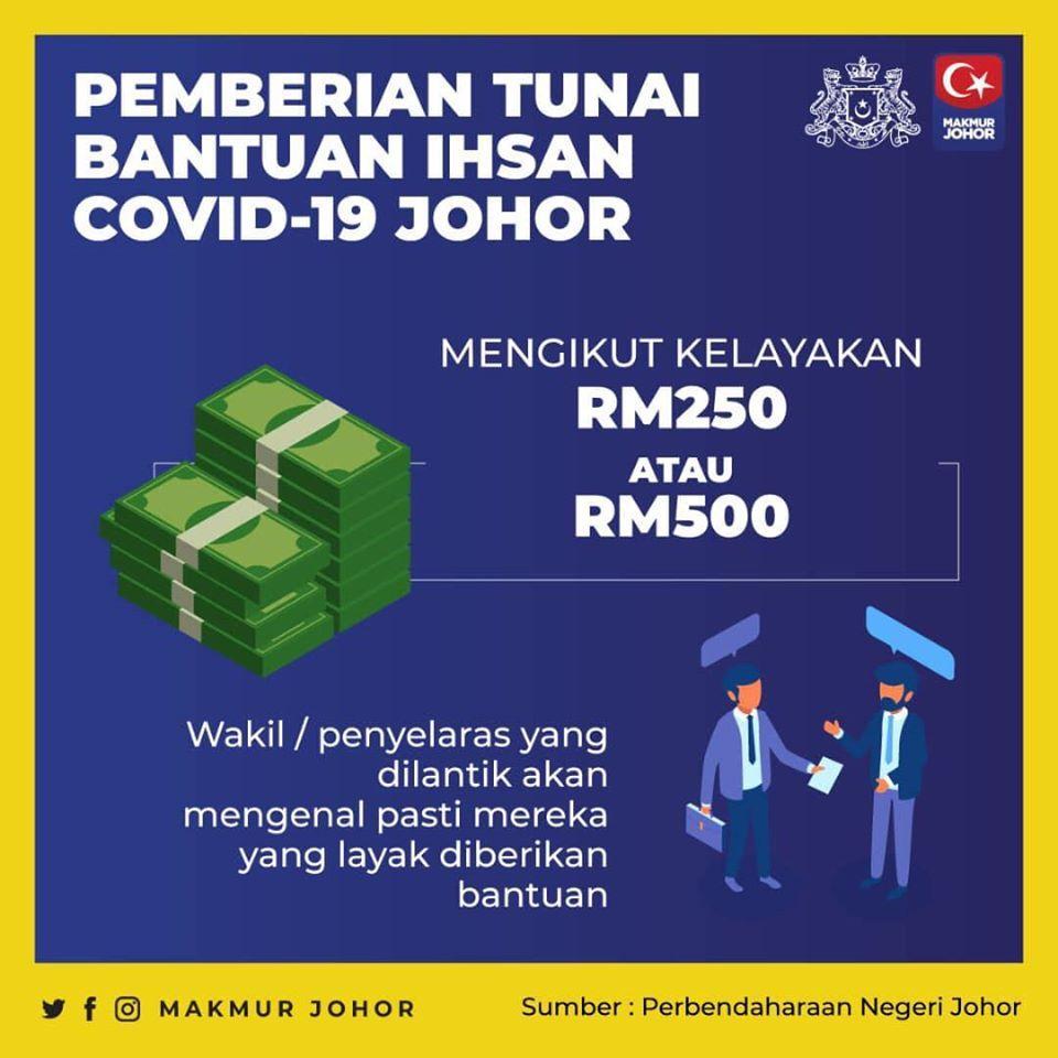 Permohonan Bantuan Tunai Ihsan Covid 19 Johor Portal Rasmi Majlis Daerah Yong Peng Mdyp